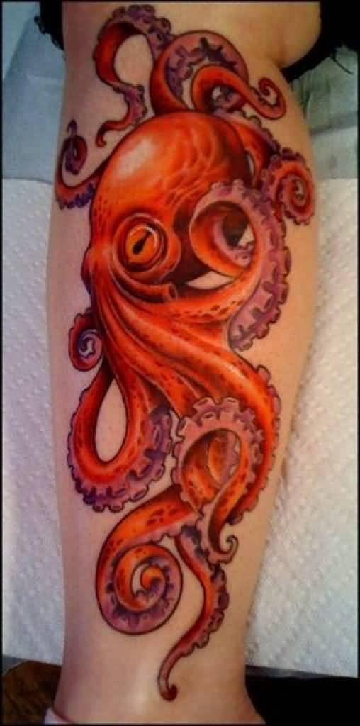 Realistic Octopus Tattoo Realistic Octopus Desi...