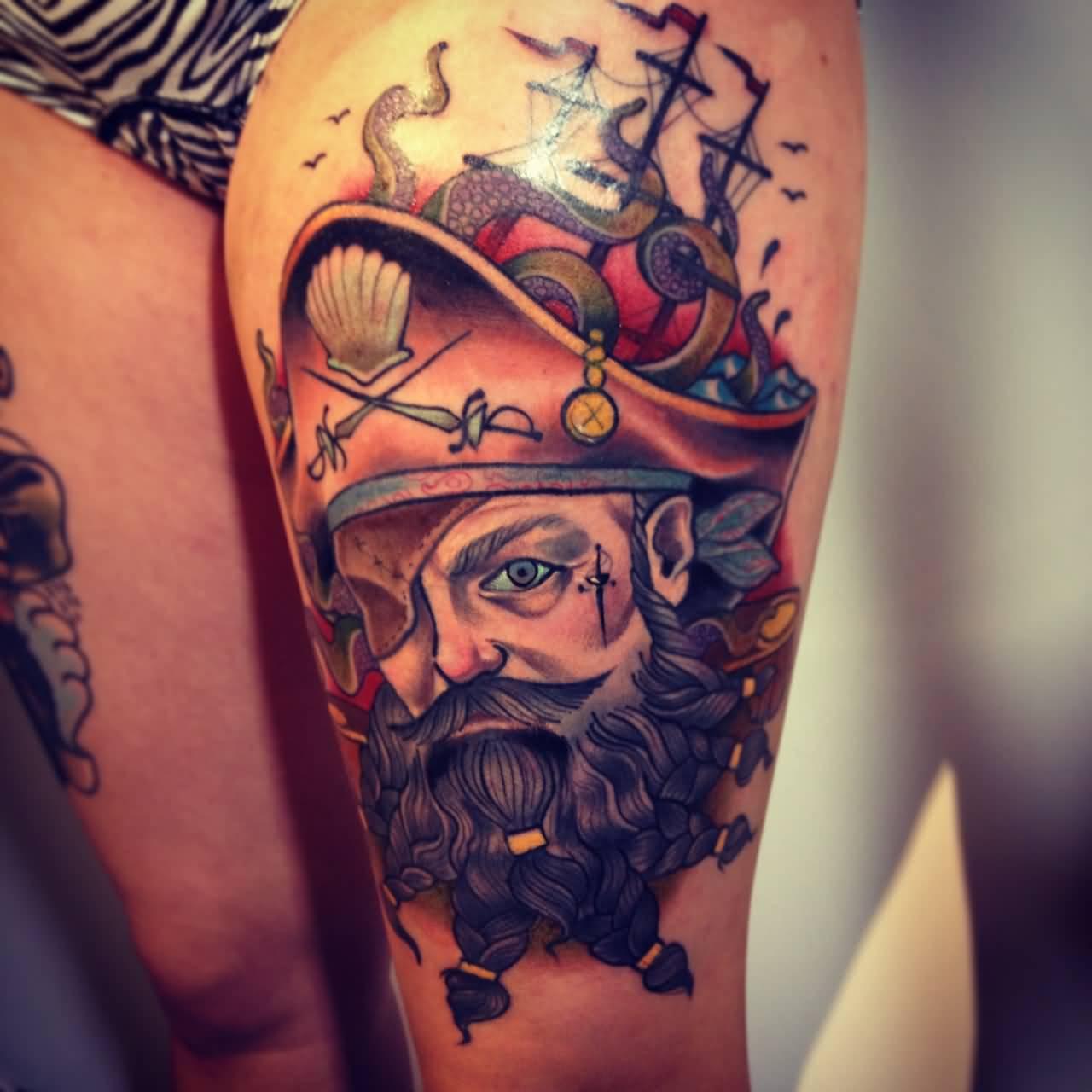 36+ Neo Pirate Tattoos Ideas