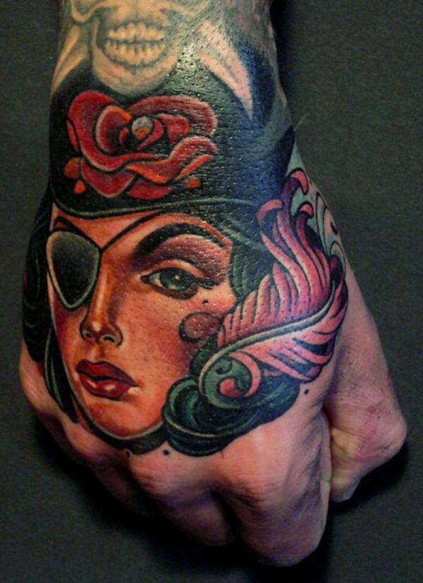 41+ Pirate Girl Tattoos Ideas - photo#22