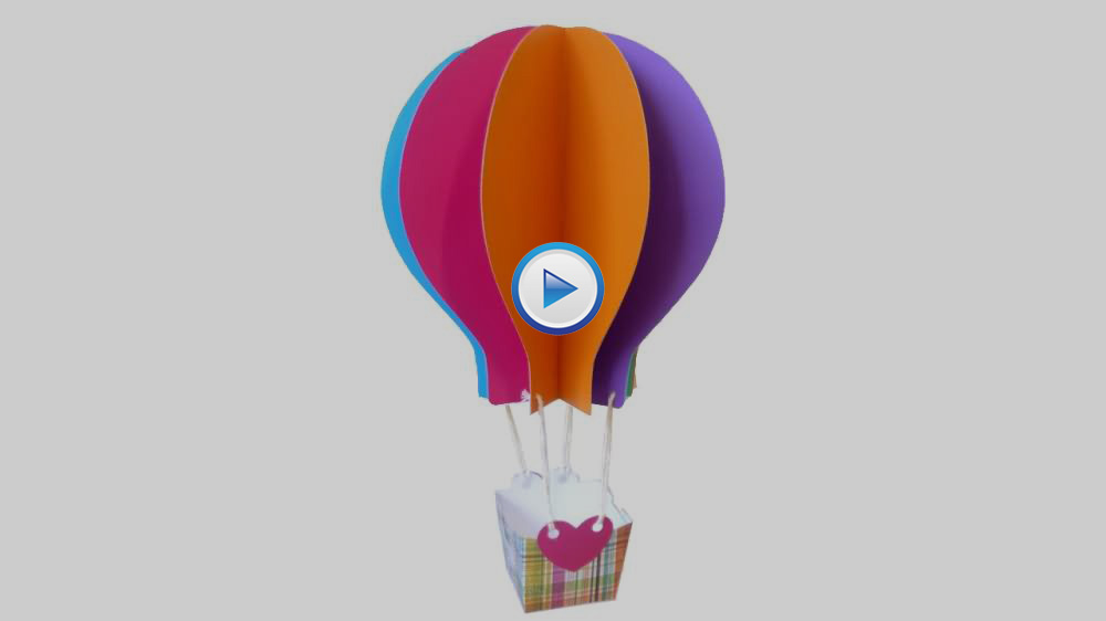 DIY Paper-Craft Hot Air Balloon