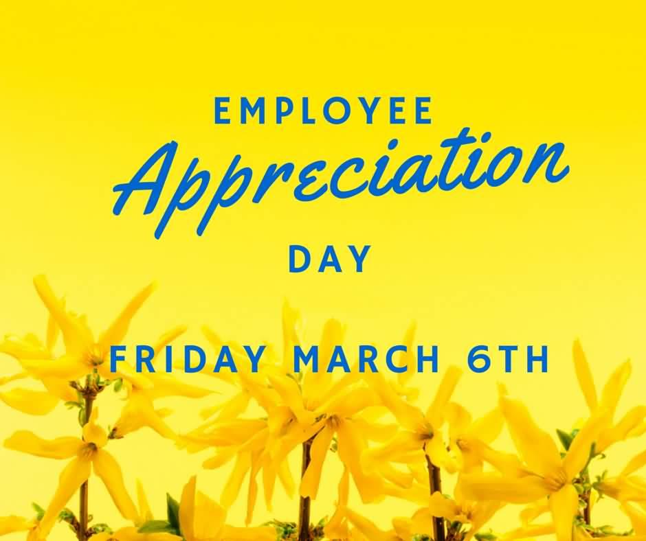 employee appreciation day flyer