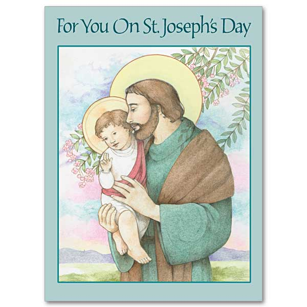 For you on st josephs day greeting card m4hsunfo