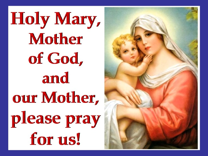 Solemnity Of Mary Holy Mother Of God Picture
