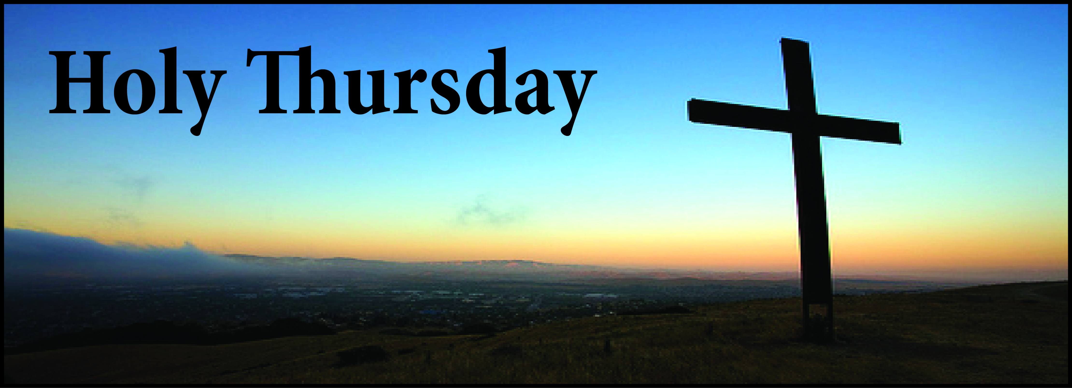 Holy thursday cross facebook cover picture buycottarizona Image collections