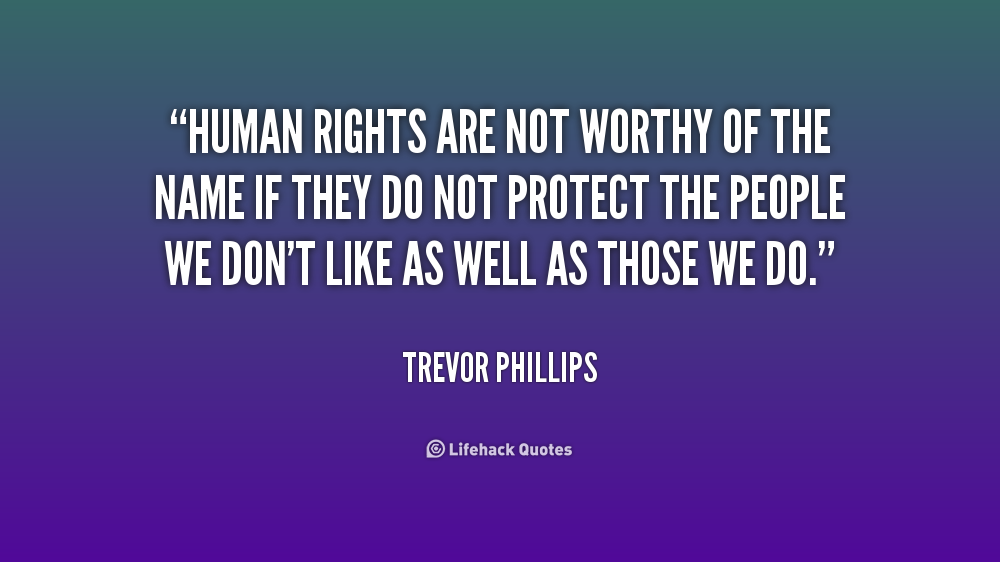 how human rights protect the people The courts have also ruled that the human rights protection from discrimination includes indirect discrimination this occurs when a rule or policy, supposedly applying to everyone equally, actually works to the disadvantage of one or more groups.