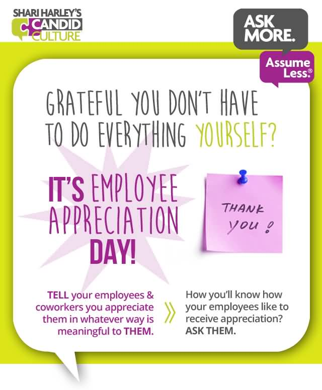 Thank You Note To Employee  KakTakTk