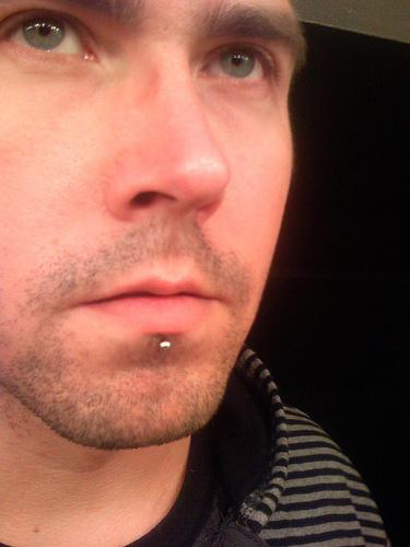 60 awesome labret piercing pictures