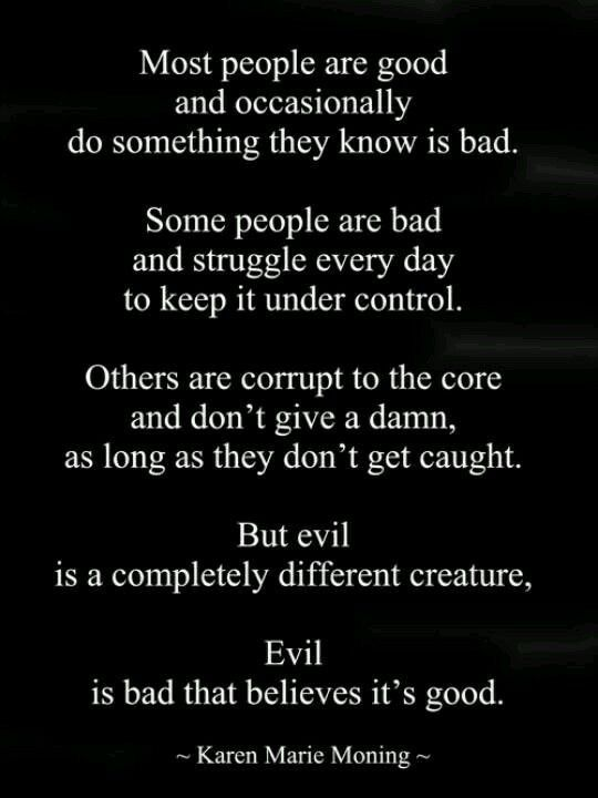 Bad Quotes | 62 Top Evil Quotes And Sayings