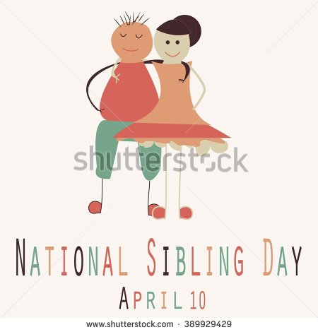 50 Beautiful National Siblings Day Greeting Pictures And ... | 450 x 470 jpeg 22kB