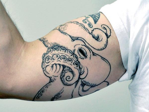 50+ Simple Octopus Tattoos - 139.2KB