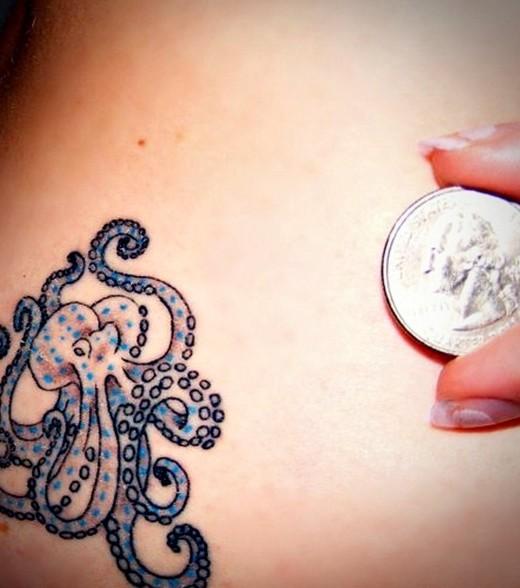 50+ Simple Octopus Tattoos - 61.6KB