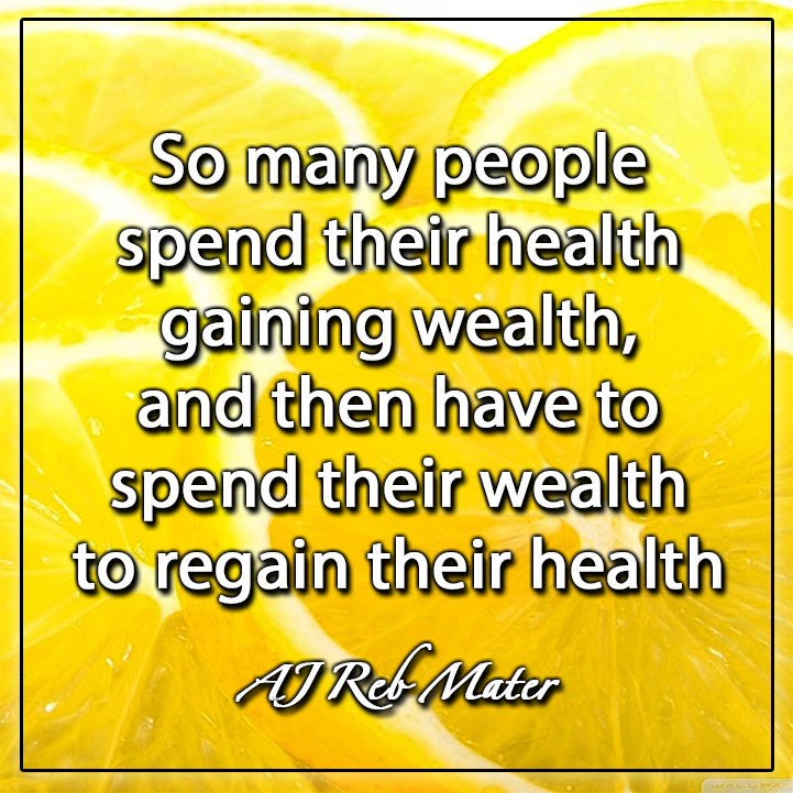 health is more important thant wealth The saying health is wealth is very apt as good health comes from a good physique that enables one to enjoy the pleasures and manage challenges of life health here comprises the mental and the physical.
