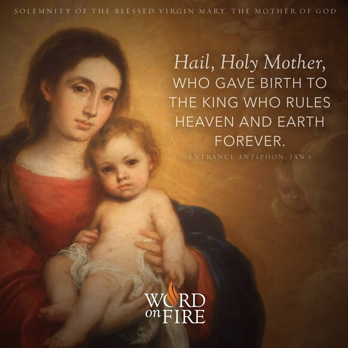 Mother Of God Movie Quote: 25 Solemnity Of Mary Mother Wish Pictures And Images