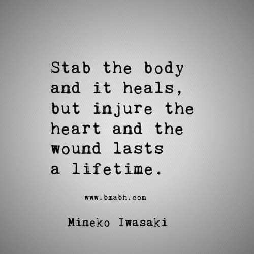 62 beautiful quotes and sayings about heart stab the body and it heals but injure the heart and the wound lasts a publicscrutiny Image collections