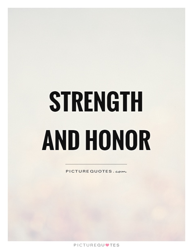 Best Latin Word For Strength And Honor Image Collection