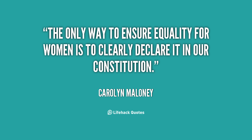 Equality For Women Quotes: 64 Best Equality Quotes And Sayings
