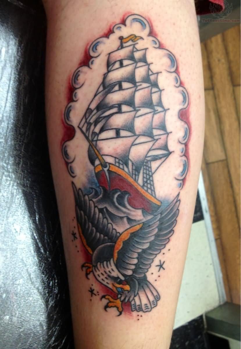 39+ Colorful Pirate Tattoos