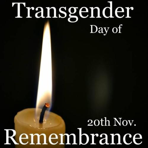 from Ernesto remember transgender