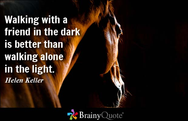 Friend Quotes Alone: 62 Most Beautiful Darkness Quotes And Sayings