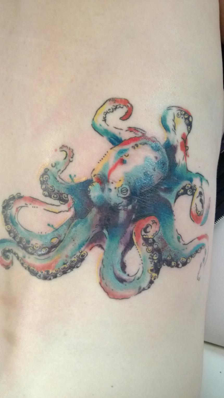 43 small octopus tattoos collection. Black Bedroom Furniture Sets. Home Design Ideas