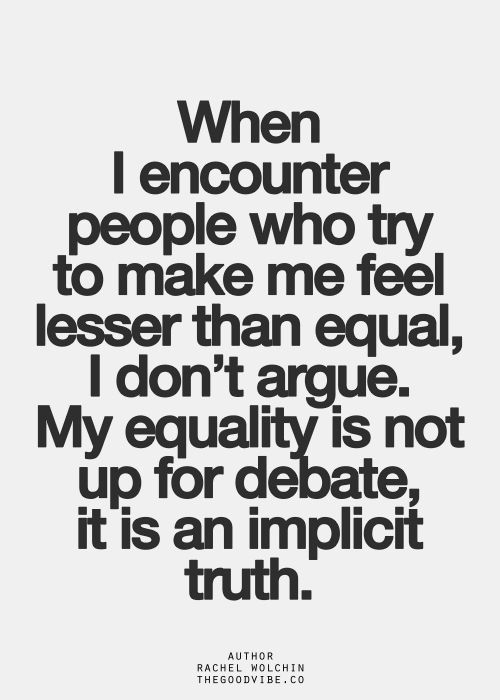 64 Best Equality Quotes And Sayings