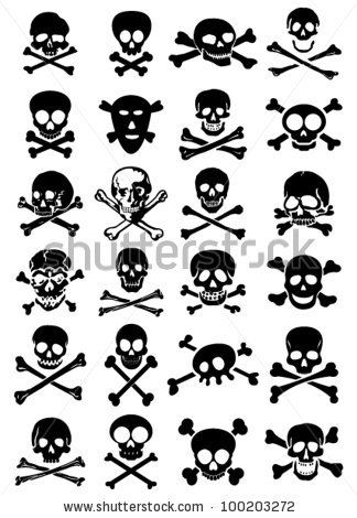 55 Pirate Crossbone Tattoos Ideas