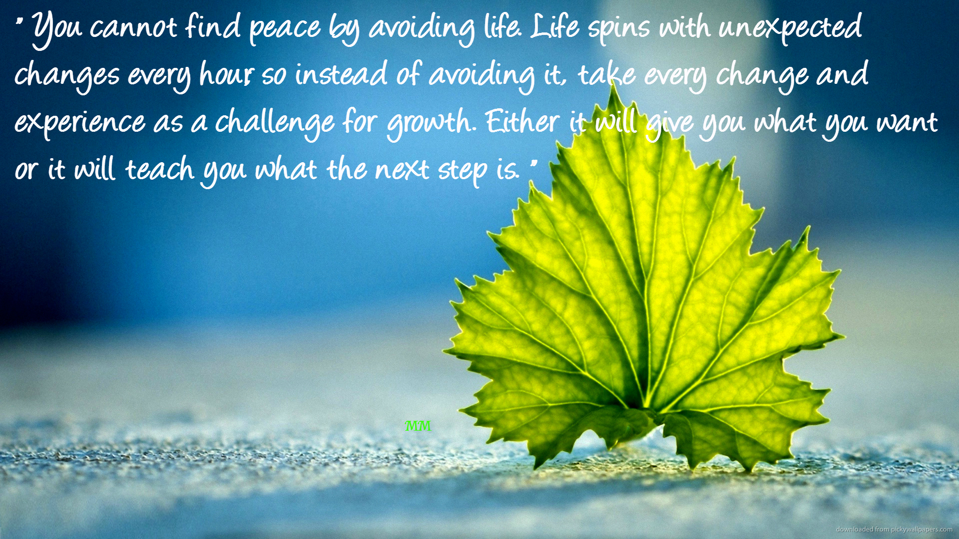 personal experience of changes in life In my life, i have been exposed to a challenge called change change can occur in many different ways and is dealt with in many different ways i have come to the awareness that change can.