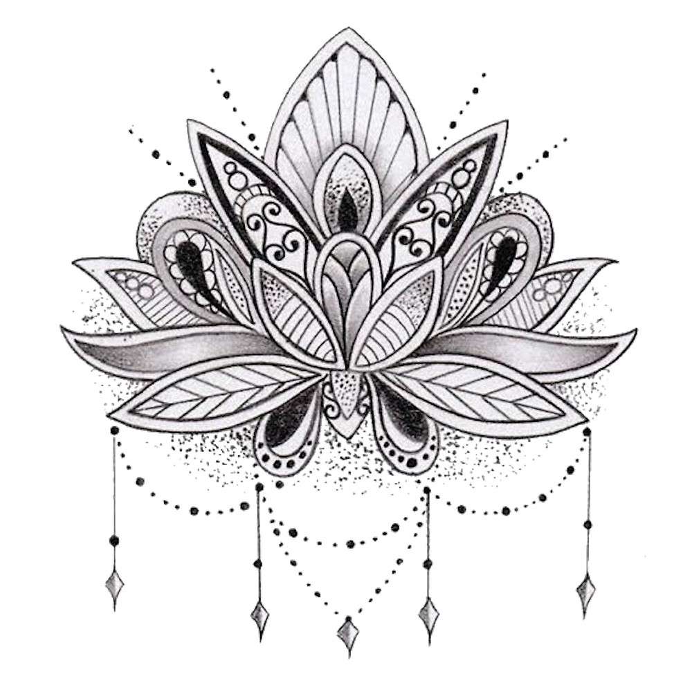 Lotus flower black and white design 8192631 sciencemadesimplefo this site contains information about lotus flower black and white design izmirmasajfo