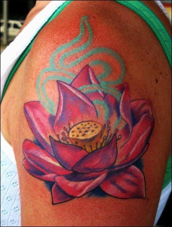 60+ Best Lotus Tattoos Ideas