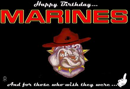 Happy Birthday Marine Corps And For Those Who Wish They Were 25 beautiful marine corps birthday wish pictures and images