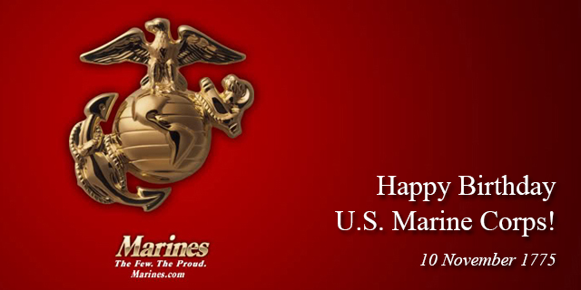 Happy Birthday Usmc Quotes ~ Happy birthday u s marine corps november