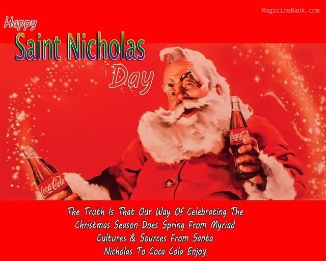 Nice Happy Saint Nicholas Day Wishes