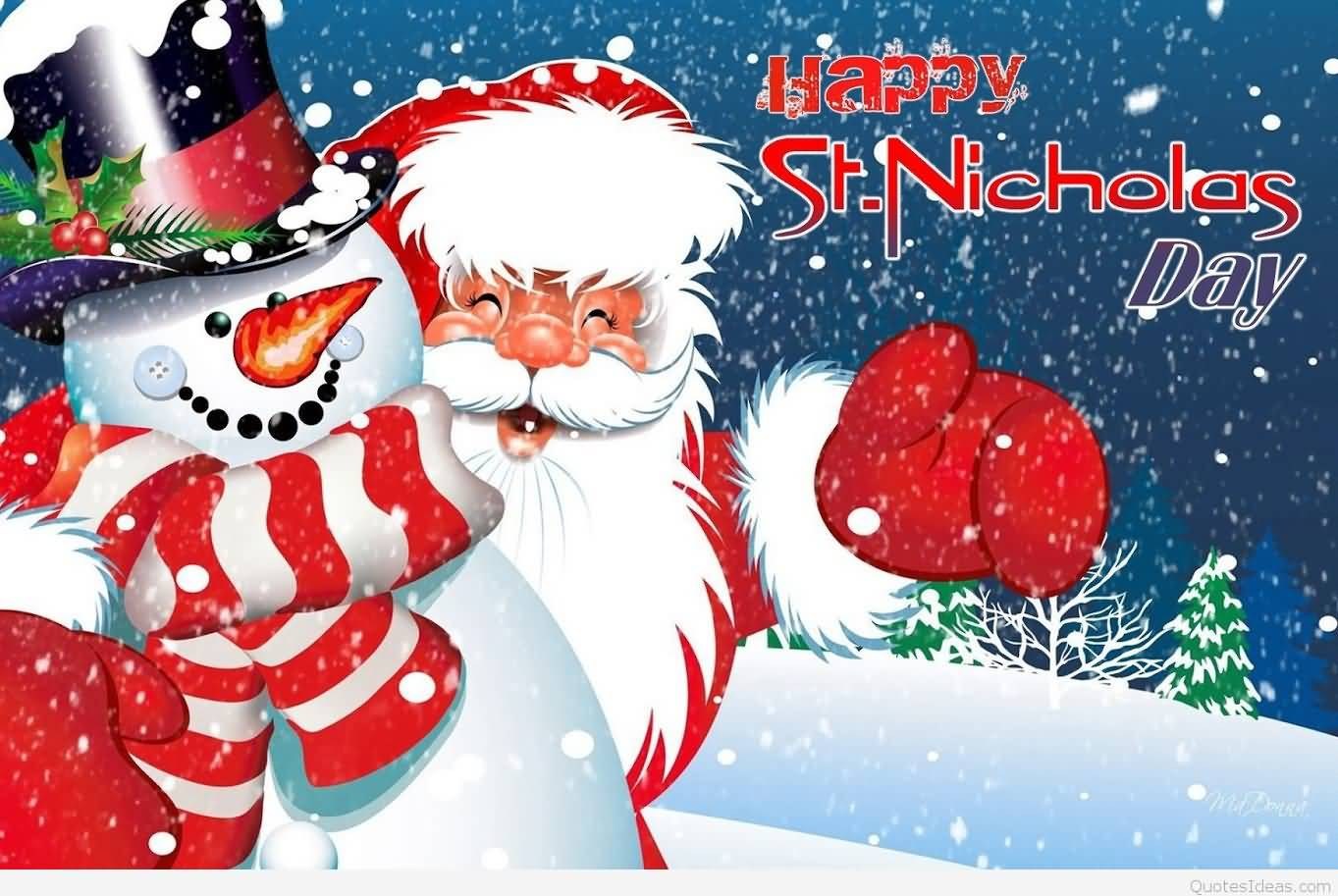 Nice Happy St. Nicholas Day 2016 Wishes Picture Pictures