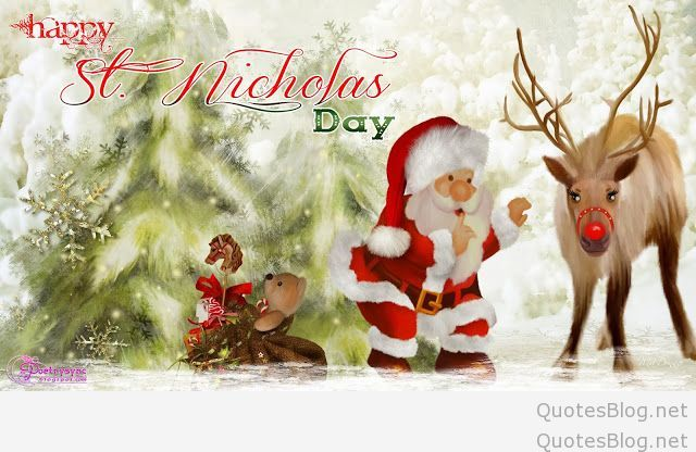 wishing you a happy blessed st nicholas day. Black Bedroom Furniture Sets. Home Design Ideas