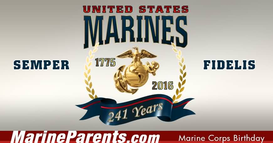 Every year on Nov 10 Marine Corps veterans receive emails calls and Facebook messages wishing them a happy birthday