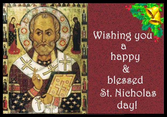 Wishing You A Happy Blessed St Nicholas Day