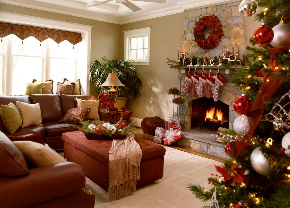 Home easy christmas decoration ideas indoor home decorating