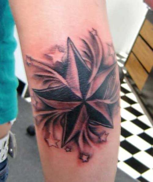 21 Catchy Black Ink Tattoos Designs By Hugo: 21+ Nice Floral Arm Tattoos
