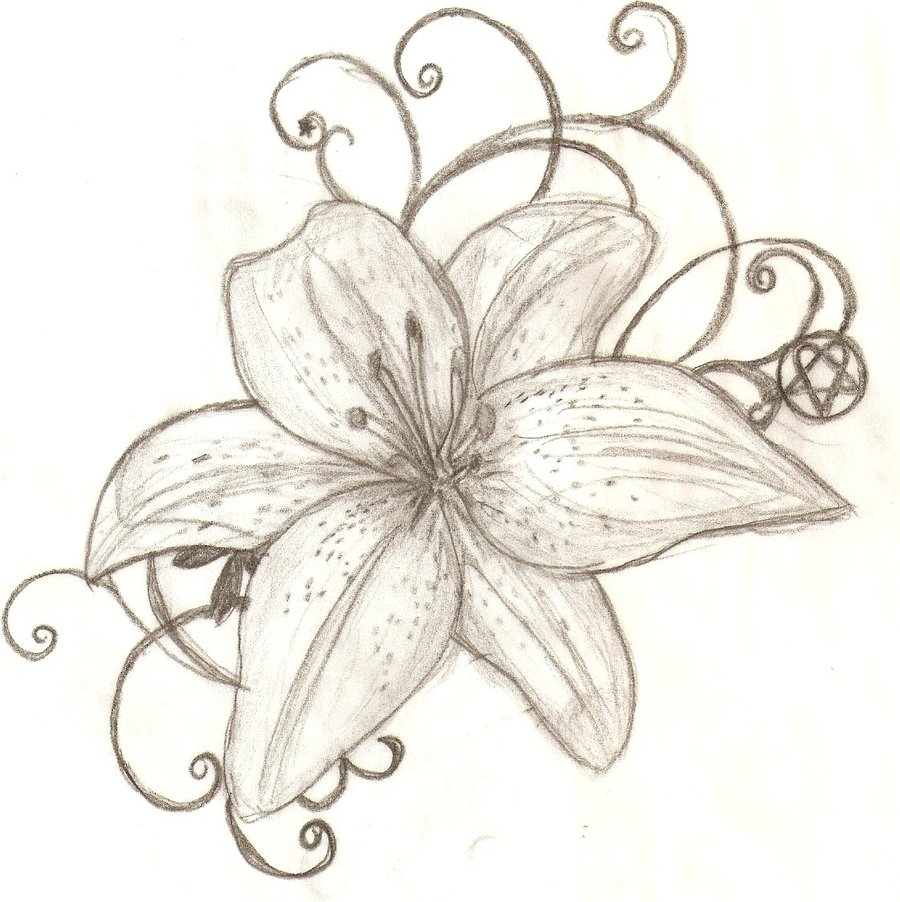 59 beautiful tiger lily tattoos ideas amazing tiger lily tattoo design izmirmasajfo Images