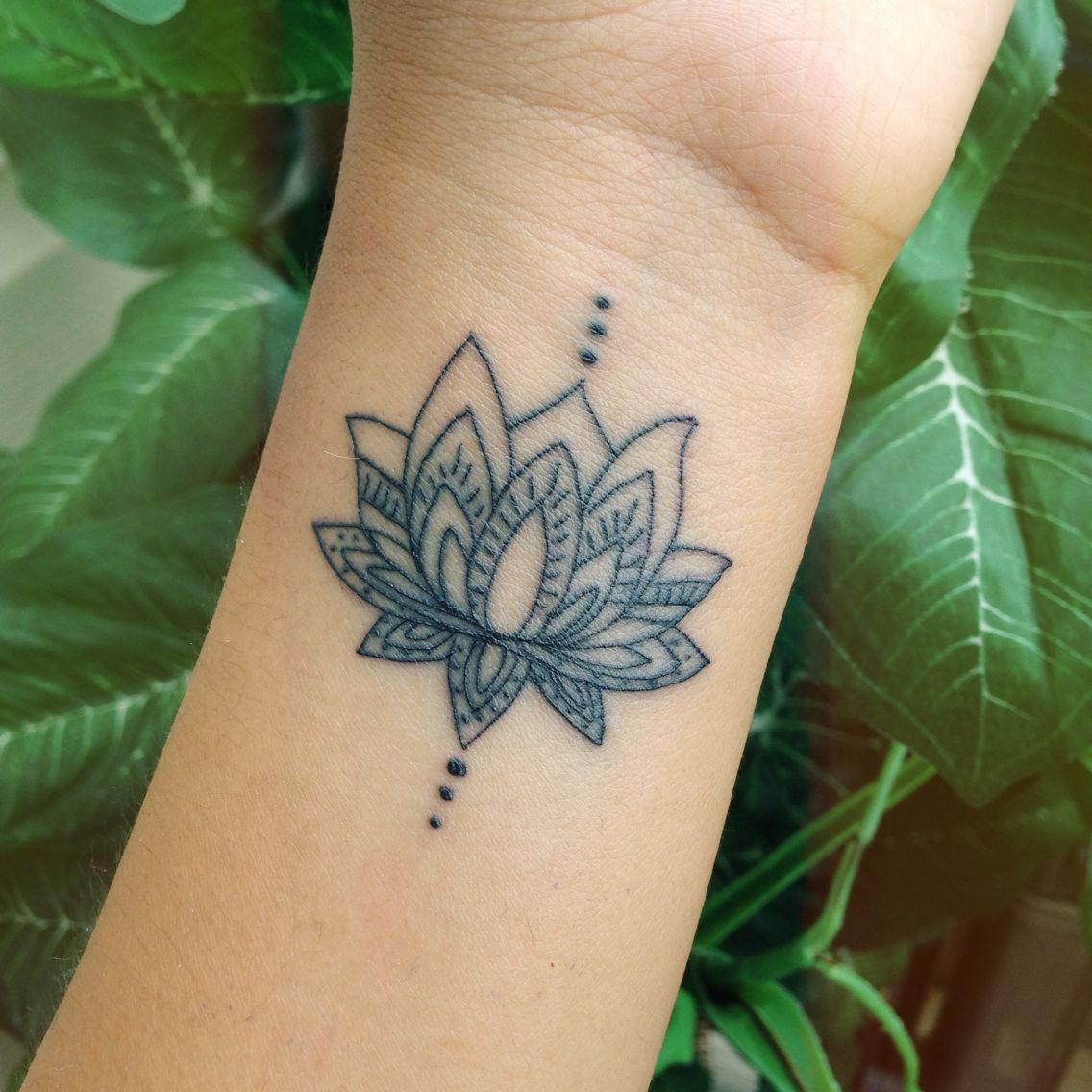 38 Lotus Tattoos On Wrist