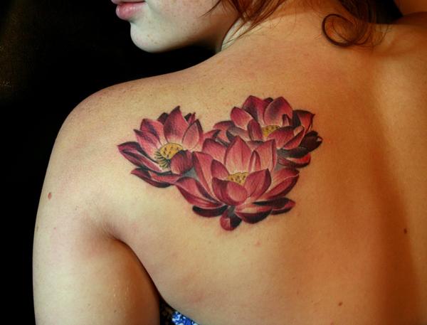 44+ Japanese Lotus Tattoos Collection