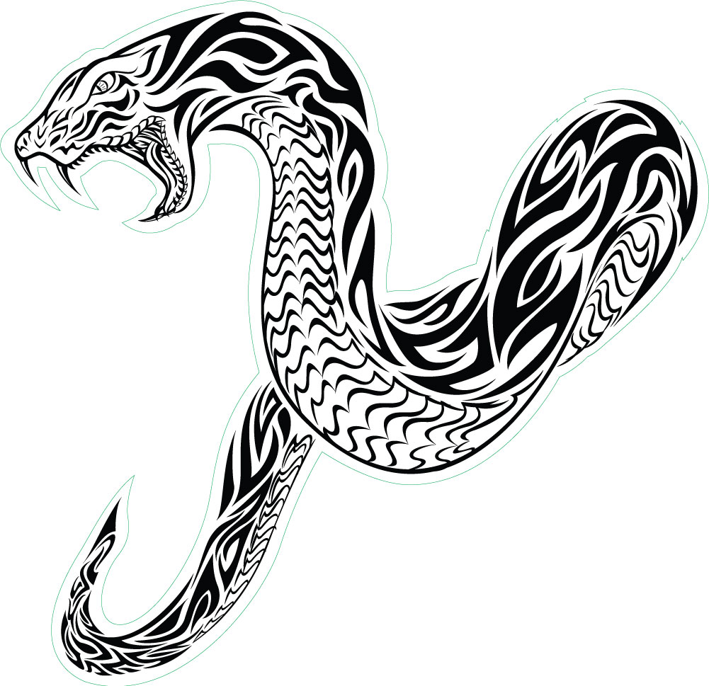 36 tribal snake tattoo designs and ideas. Black Bedroom Furniture Sets. Home Design Ideas