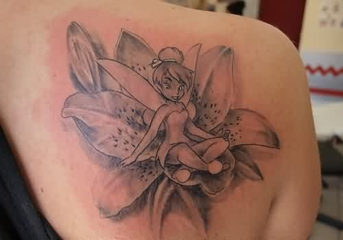 44 lily tattoos on shoulder. Black Bedroom Furniture Sets. Home Design Ideas