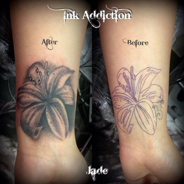 Lily Flower Tattoos On Wrist: 45+ Unique Lily Cover Up Tattoos
