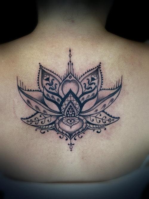 36 Mandala Lotus Tattoos Ideas