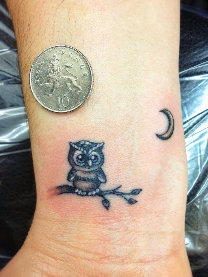 48 Best Owl Tattoos On Wrist