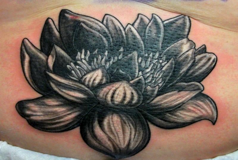 32 awesome black lotus tattoos. Black Bedroom Furniture Sets. Home Design Ideas