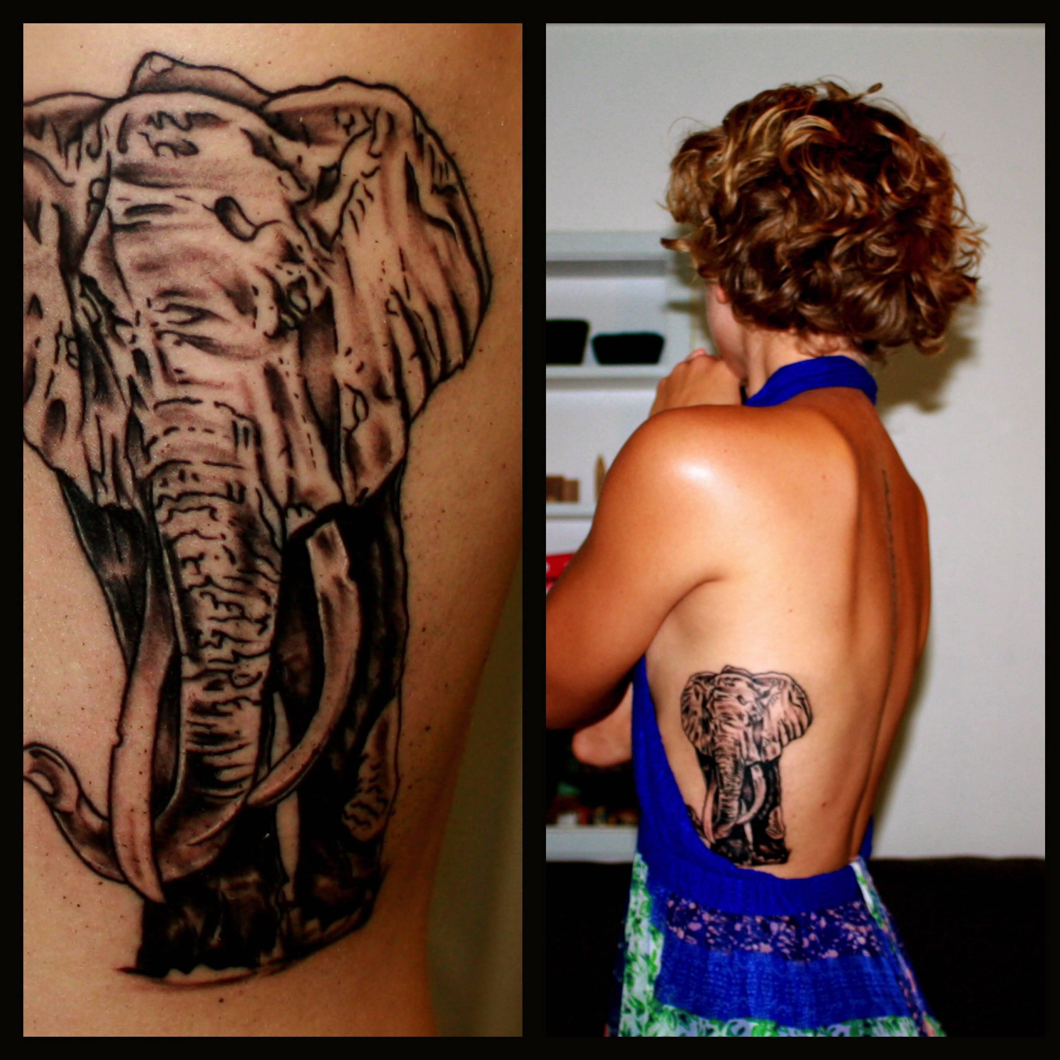 Tattoo Ribs Left: 37+ Elephant Tattoos On Side Rib
