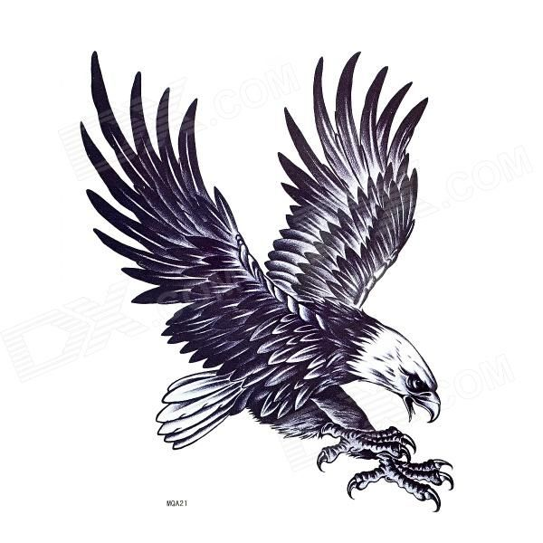 Eagle wing shoulder tattoo