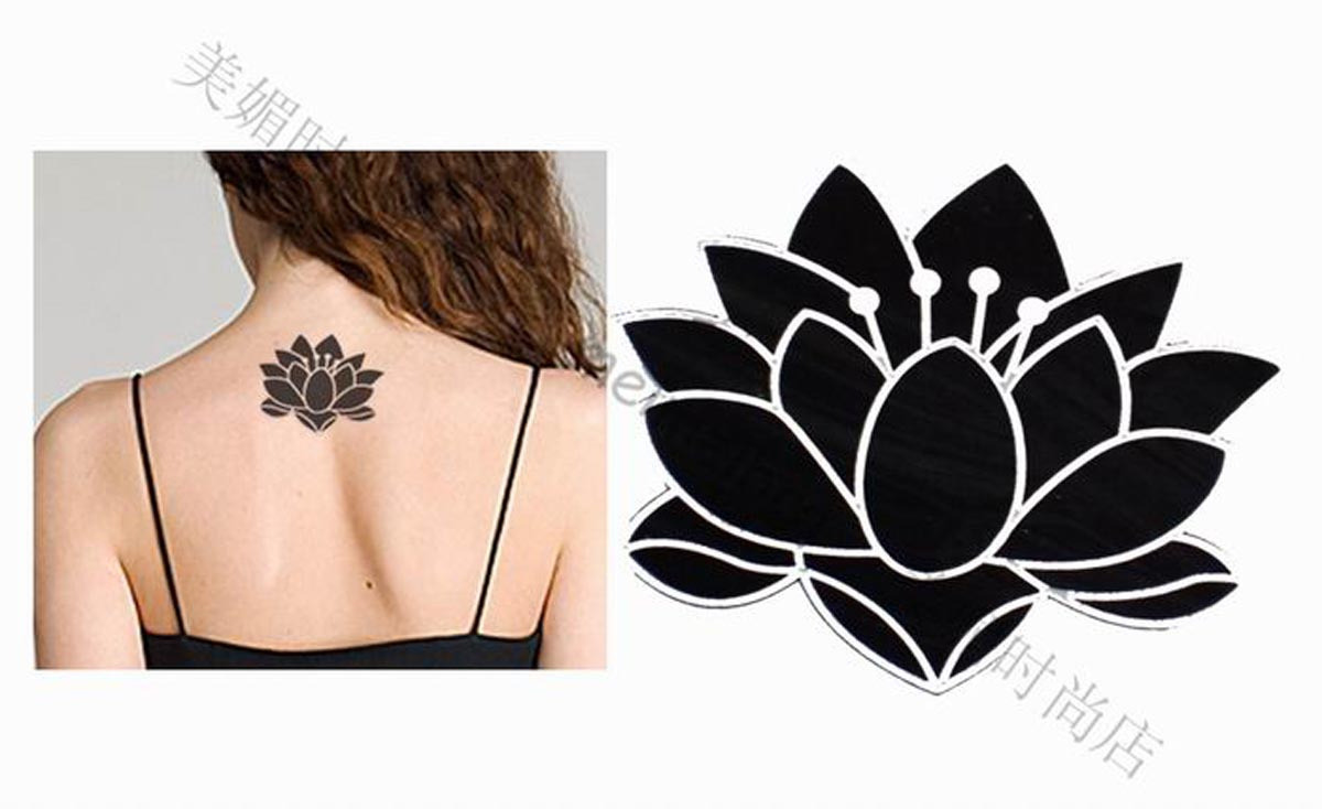 32 Awesome Black Lotus Tattoos